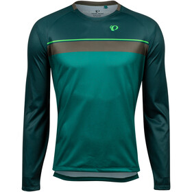 PEARL iZUMi Summit Top Manga Larga Hombre, pine/alpine green